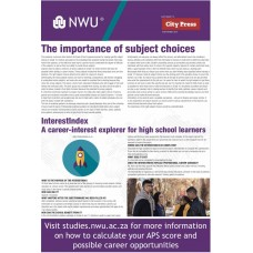 Career and Subject Choice NWU 2019